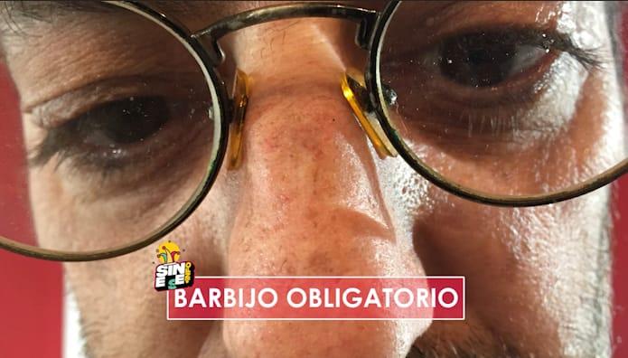 JORGE SINFUENTE: Barbijo obligatorio