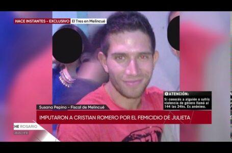 Femicidio Julieta Delpino: imputaron al único detenido