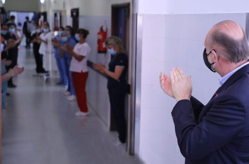 El viejo hospital Iturraspe reabre sus puertas