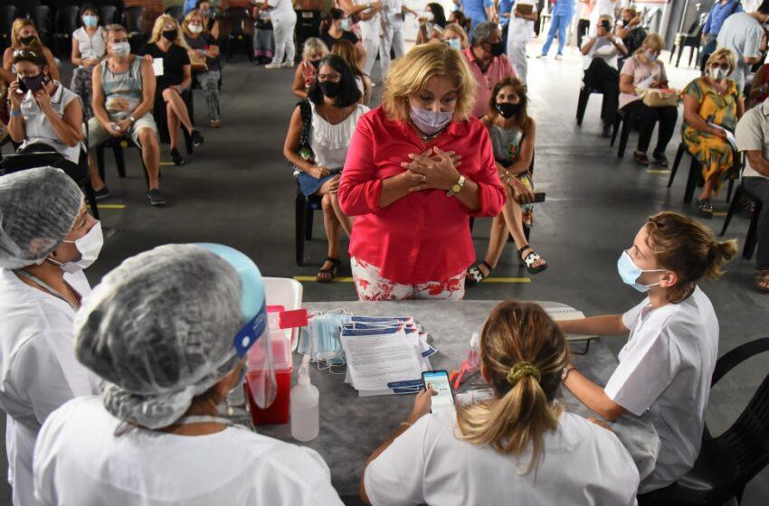 Comenzó la combinación de vacunas: ya se entregaron 4600 turnos en la ciudad de Santa Fe