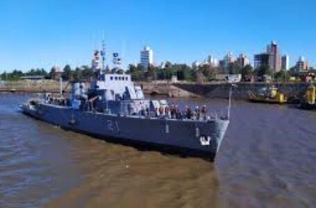 Están en Santa Fe los buques que brindarán atención médica y social hasta el jueves en Alto Verde